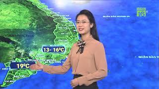 Dự báo thời tiết 06/12/2019   Bắc Bộ rét đậm, rét hại   VTC16