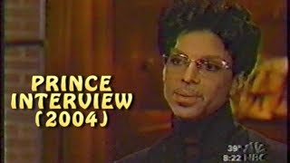 Prince New TV Interview 12 Days Before Musicology Tour Kicks Off (2004)