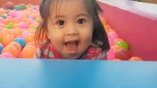 SOPHIE Playing Indoor Playground Fun Play Area Playing With Toys and Nursery Rhymes Songs