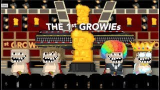 Growtopia | The 1st Annual Growie Awards ft. Seth, Hamumu, and Ubidev