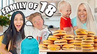 AFTER SCHOOL & NIGHT ROUTiNE w/ LARGE FAMiLY of 18!