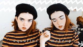 ♒️The perfect Makeup for an Aquarius ♒️| Makeup Tutorial