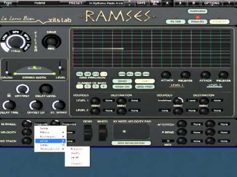 XILS-lab R.A.M.S.E.S. Preset Tour 2