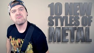 10 NEW STYLES OF METAL // JARED DINES