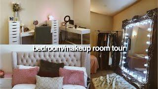 MAKEUP ROOM + BEDROOM TOUR!!💓