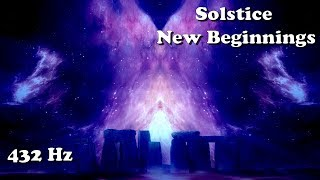 Winter Solstice (deep meditation for new beginnings) 432 Hz/1 hour