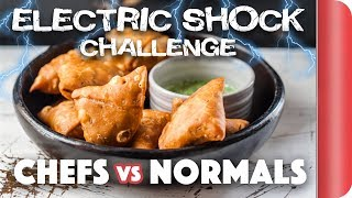 Making Samosas WITHOUT the recipe! Chefs vs Normal Guys