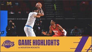 HIGHLIGHTS | Anthony Davis (27 pts, 4 reb) vs Houston Rockets