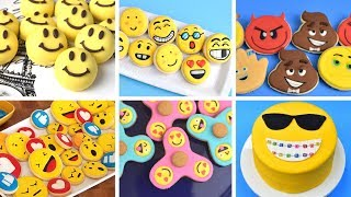 BEST OF EMOJI COOKIES and CAKES by HANIELA'S
