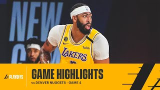 HIGHLIGHTS | Anthony Davis (34 pts) vs Denver Nuggets