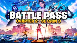 FORTNITE SEASON 3 CHAPTER 2 BATTLE PASS!