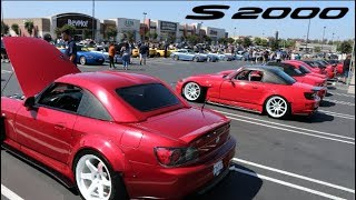 V-TEC HEAVEN! Worlds Biggest Honda S2000 Meet?!