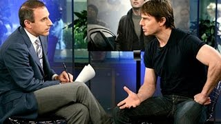 Matt Lauer On That Infamous Tom Cruise Interview: I Wanted to Tackle