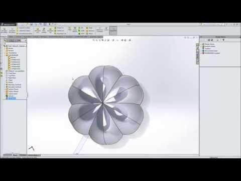 Modeling a pumpkin in SolidWorks - Part 1 - Design