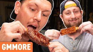 Vegan BBQ Ribs Taste Test