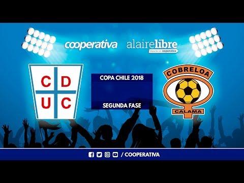 Universidad De Chile vs CD Cobreloa Calama