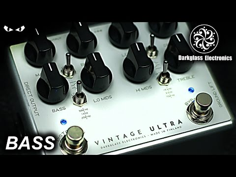 Darkglass Vintage Ultra Bass Overdrive / Distortion Pedal (Hand Made In Finland)