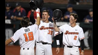 Highlights: No. 4 Oregon State baseball sweeps past Arizona in nightcap of doubleheader