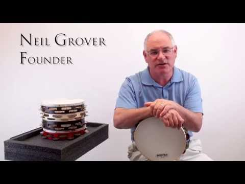 Grover Pro Tambourine Features
