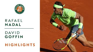 Rafael Nadal vs David Goffin - Round 3 Highlights | Roland-Garros 2019