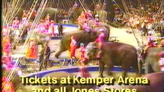 1987 Ringling Bros and Barnum and Bailey circus commercial