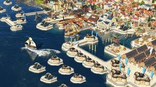 ANNO 1800 | Ep. 21 | FORTRESS BATTLE DEFENSE, WAR! | Anno 1800 City Building Tycoon Sandbox Gameplay