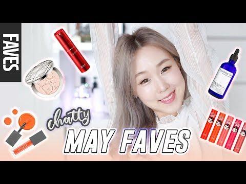 MAY 2018 FAVORITES! Korean & Non-Korean Products + Update Heart-to-Heart 💜미즈뮤즈의 5월 추천템 | meejmuse