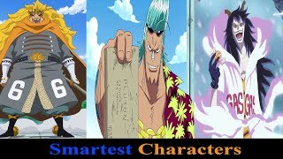 Top 5 Smartest Characters(Technological)One Piece
