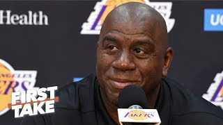 Who should replace Magic Johnson as the Lakers' president of basketball operations? | First Take