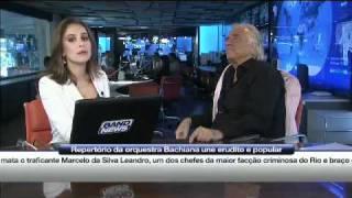 Vanessa Cochi entrevista o maestro João Carlos Martins
