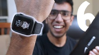 A Day with Apple Watch Series 6 NIKE 🔥 UNBOXING