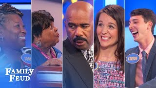 Family Feud's BEST BLOOPERS and EPIC FAILS!!! | Part 10