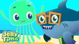 Jelly Time! | Funny Baby Shark | Cartoon Compilation | Cartoons for Kids | WildBrain Happy Kids