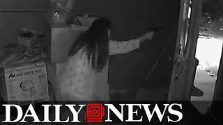 VIDEO: Georgia woman shoots robbers, kills one