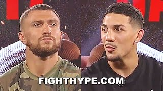 """TEOFIMO LOPEZ WARNS LOMACHENKO """"I HAVE FOOTWORK TOO""""; SETS RECORD STRAIGHT ON FATHER & """"DYNAMIC DUO"""""""