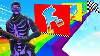 99% UNMÖGLICHER Slide Deathrun Parkour in Fortnite!