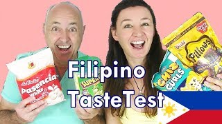 Filipino Taste Test Chiz Curls White Cookies and more