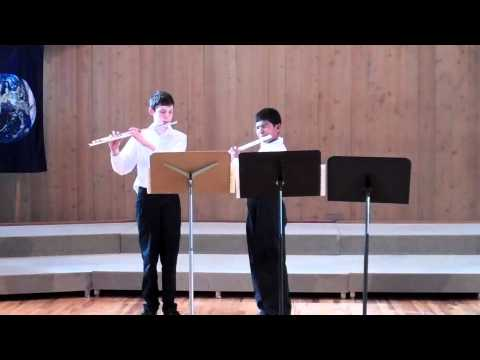 Areon Flutes Education! Areon Chamber Music Institute Performs Haiku, Two Take it Easy