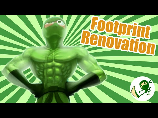 Footprint Renovation - Green Ninja Show