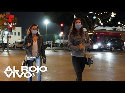 California entra en toque de queda por aumento de COVID-19 | Al Rojo Vivo | Telemundo