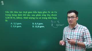 Đề thi thử THPT QG môn Hóa học năm 2019 – Thầy: Phạm Thanh Tùng