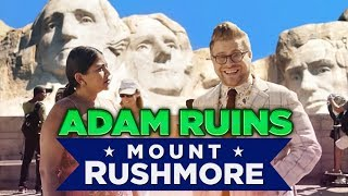 Why Mount Rushmore is the Weirdest Monument | Adam Ruins Everything