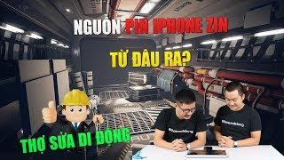 Thợ sửa di động 38: Nguồn pin iPhone zin từ đâu mà ra?