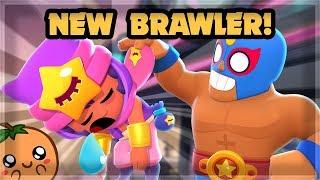 NEW BRAWLER SANDY & NEW GAME MODES! - Brawl Talk 🍊
