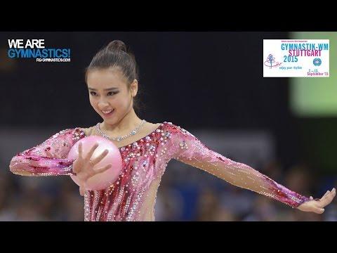 SON Yeon Jae (KOR) 2015 Rhythmic Worlds Stuttgart - Qualifications Ball