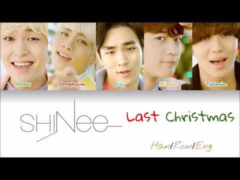 SHINee- Last Christmas Cover (Color-Coded Lyrics)
