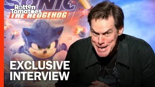 /jim carrey and sonic cast give the hedgehog redesign the thumbs up rotten tomatoes