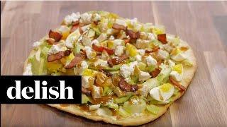 How To Make Cobb Salad Pizza | Delish