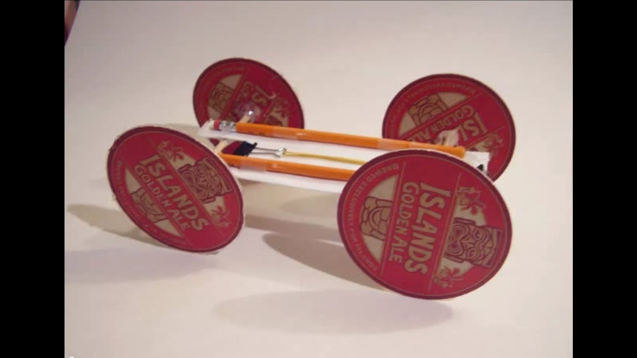 Rubber Band Car Youtube