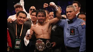 SUGAR RAY LEONARD SAYS DOES MANNY PACQUAIO HAVE MUCH LEFT